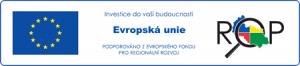 Logo Evropský fond pro regionální rozvoj